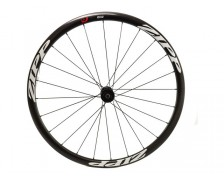VOORWIEL ZIPP 202 CARBON CLINCHER DISC 24 SPAAKS CLASSIC WHITE